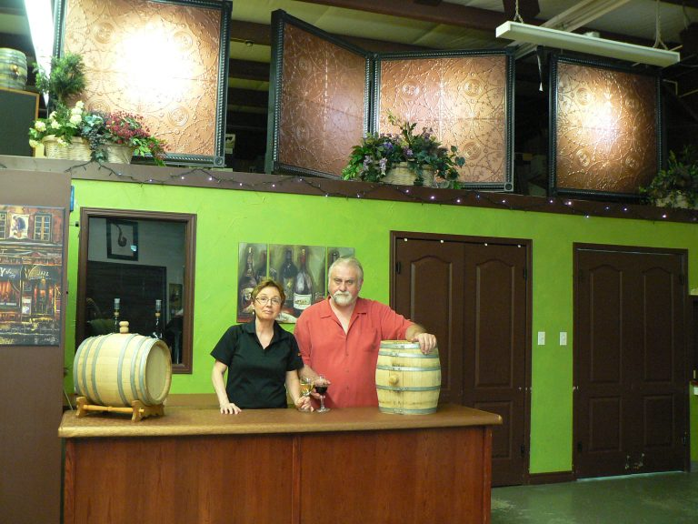 Marie & Pat Graham Wine Cellar Owners